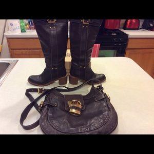 Chloe bag & boots